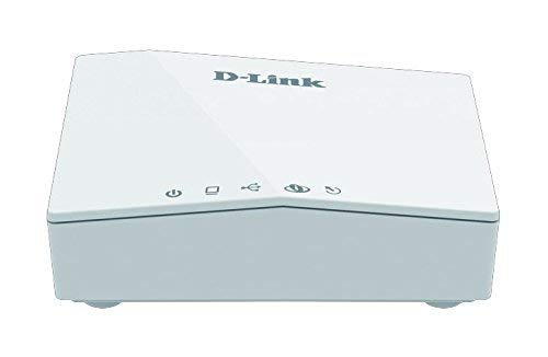 (Renewed) D-Link DSL-2520U ADSL2+ Wired Ethernet/USB Combo Router (White)