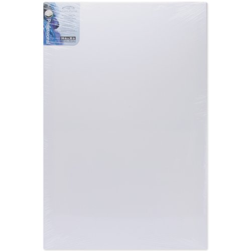- Winsor Newton 24x36 Inch Prestretched Canvas- Pack of 6