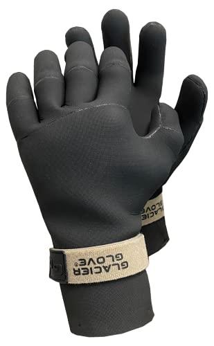 Glacier Glove Damen Perfect Curve S-Black Handschuhe, schwarz, Small