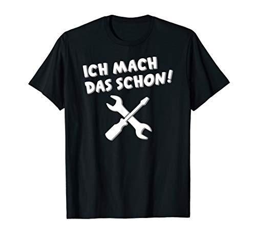 KFZ Mechaniker T Shirt Geschenk Mechatroniker Autoschrauber T-Shirt