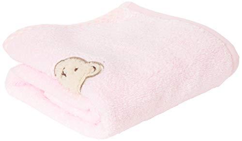 Steiff Baby-Mädchen Towel Handtuch, Rosa, 999