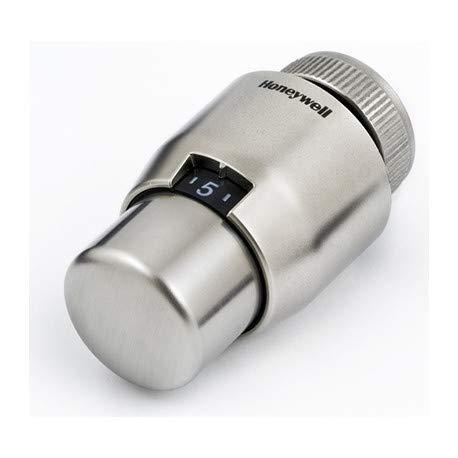 Honeywell Thera 200 Design, gebürstet/gebürstet, Thermostatkopf, T4111