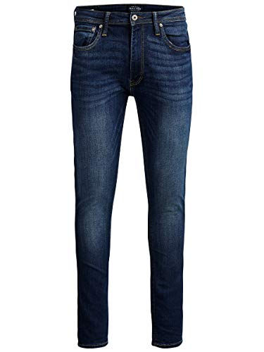 JACK & JONES Herren Skinny Fit Jeans Liam ORIGINAL AM 014 3230Blue Denim