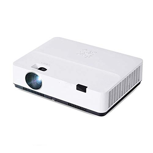 MUDEREK Full HD 1080 P Proiettore LCD, 3300ANSI Video Proiettore 4K, LED 3D Proiettore per 300 pollici Home Cinema