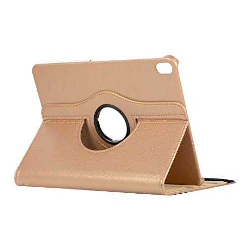 RZL PAD & TAB cases For IPad Pro 11 2020 IPad Pro 12.9 2020, 360 Rotating Cover for IPad 6th 7th Generation Air 2 10.2 2019 (Color : Gold, Size : For iPad Mini 1 2 3)