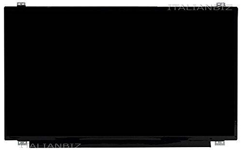 Schermo display opaco LED 15.6' slim 30 pin compatibile per Asus X542UA-GQ266T (90NB0F23-M03230), X542UA-GQ440 (90NB0F22-M14170), X542UA-GQ440R, X542UF-GQ, X542UN-GQ X542UN-GQ033T X542UQ-GO X542UQ-GQ