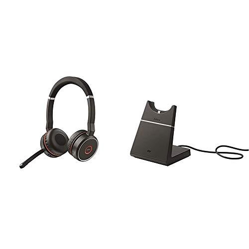 Jabra Evolve 75 UC Stereo Wireless Bluetooth Headset ...