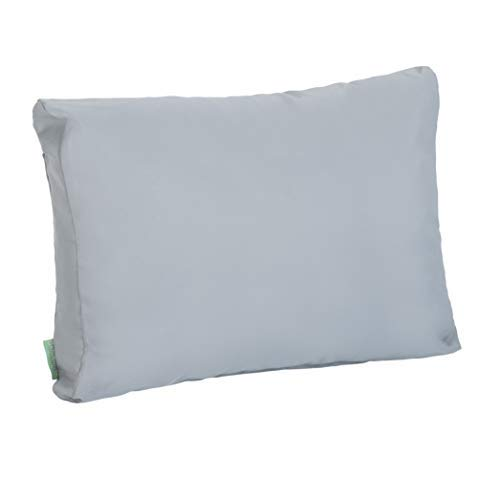 Gardenista Garden Back Cushion for Pallet Furniture | For Standard Euro Pallet | Outdoor Wood Furniture Sofa Pillow | Water Resistant Ultra Comfy & Durable | 1 Piece (Grey)
