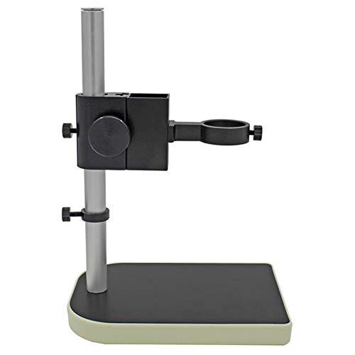 SNOWINSPRING Soporte de CáMara Industrial CCD RegulacióN Superior e Inferior RegulacióN de la Industria Digital Microscopio de Laboratorio Soporte de Mesa Soporte Fijo