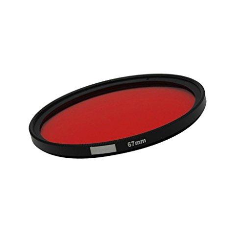 Homyl Unterwasser Fotographie Filter Rotfilter Objektivfilter zum Tauchen Schnorcheln für Sony Canon Nikon Fujifilm Kameras