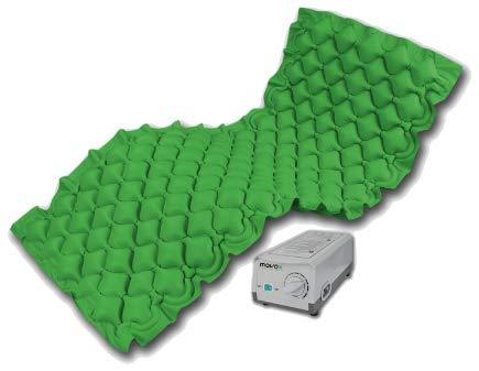 movox healthcare Antidekubitus Matratze/Wechseldruckmatratze grün movocare adm one/Hersteller aus Österreich!