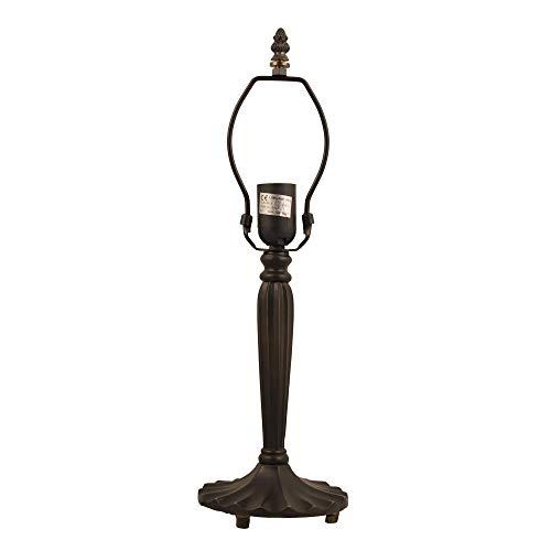 LumiLamp 5LL-5949 - Base per Lampada, ca. Paralume in Vetro Stile Tiffany, 46 cm