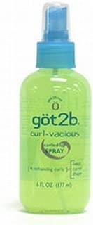 Got2b, Curl-vacious Curled-up Spray, 6 Fl. Oz.