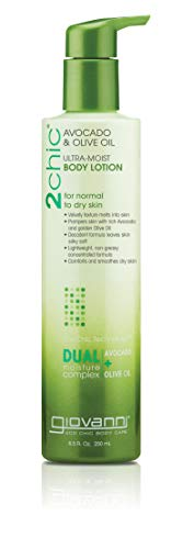 GIOVANNI - 2chic Ultra-Moist Avocado and Olive Oil Body Lotion - 8.5 fl. oz. (250 ml)