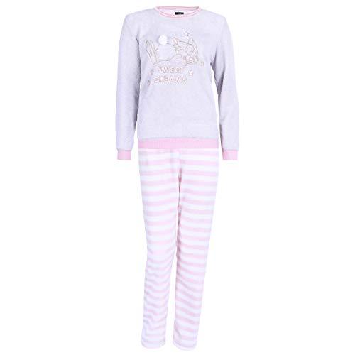 Grau-rosa gestreifter Pyjama Trampler Disney - 38-40 / UK 12-14 / EU 40-42