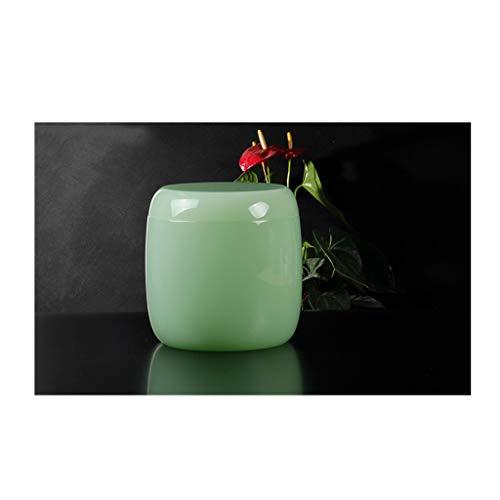 WEIFAN-Urns Urnen Asche Urnenglas Keramik Stein Ryukyu Glas Stein Schatulle für Männer und Frauen Haustier Denkmal (Cyan/Trompete)