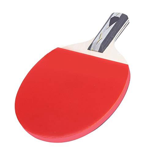 Raqueta de tenis de mesa Equipamiento deportivo Mango corto Superior para jugadores de tenis de mesa