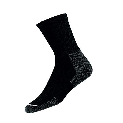 thorlos Herren Socken Kx Max Cushion Hiking Crew - Schwarz - Large