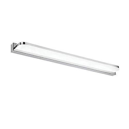 Yafido Aplique Espejo Baño Interior LED 12W luz Baño Lámpara de Pared Espejo Iluminación para Maquillaje Blanco Neutro 4000K 1000LM 50CM No-regulable IP44