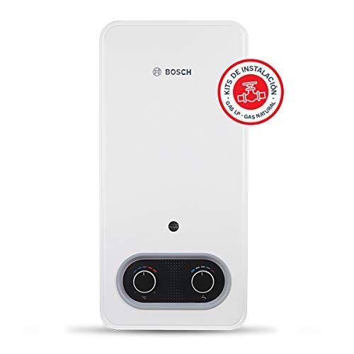 Bosch Confort Natural con Kit de mangueras Calentador de agua, 7 litros, Blanco