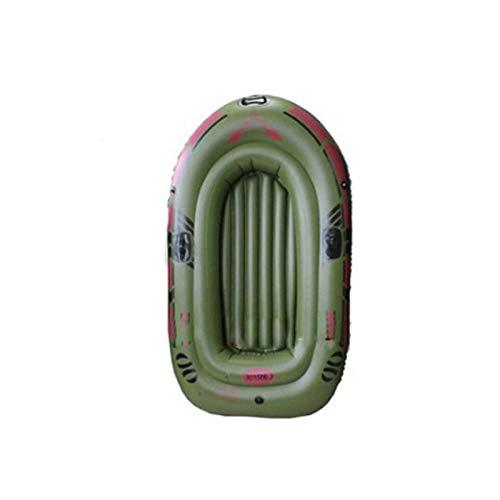 Balsas Inflables Para Botes, Botes De Re.mos Ligeros Para 1/2/3 Personas Con Re.mos Y Bomba De Pie Para Adultos, Bote A La Deriva Plegable Resistente Al Desgarro Engrosado Para Pesca En Balsa En
