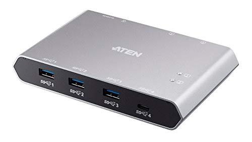 『ATEN USB-C 2ポートUSB 3.1 Gen 2デバイス共有器(電源パススルー対応) US3342』のトップ画像