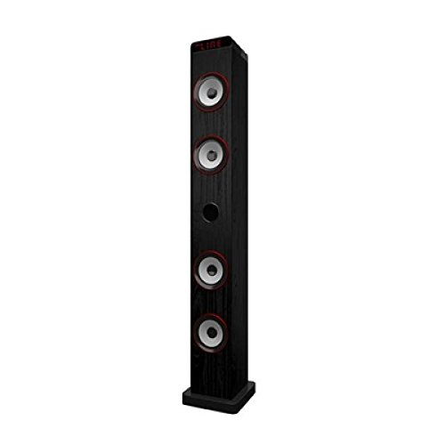 Primux TW01–Torre audio con Bluetooth, 30W, FM, colore: nero