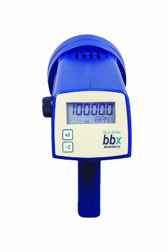 Monarch Nova-Strobe BBX 115/230 Digital Portable Stroboscope, Rechargeable, 7.81