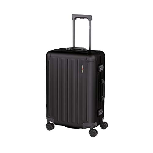 Hardware Suitcase with 4 Wheels M 65 cm Profile Plus Alu 63 Liter