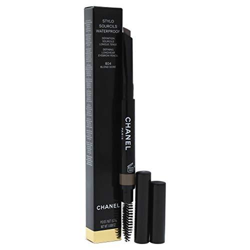 Chanel Stylo Sourcils Waterproof Eyebrow Pencil, 804 Blond Dore, 0.09 Ounce