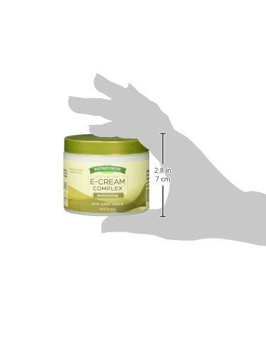 Nature's Truth Vitamin E Cream, 4 Ounce