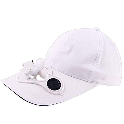Baseball Caps Mode Vrouwen Sunhat Camping Wandelen Piek Cap Met Zonne-energie Ventilator Honkbal Hoed Koeling Fan Cap
