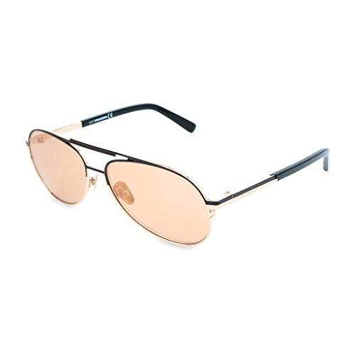 DSQUARED2 DQ0280 38Z 57 Monturas de gafas, Dorado (Bronzo/), 57.0 Unisex Adulto