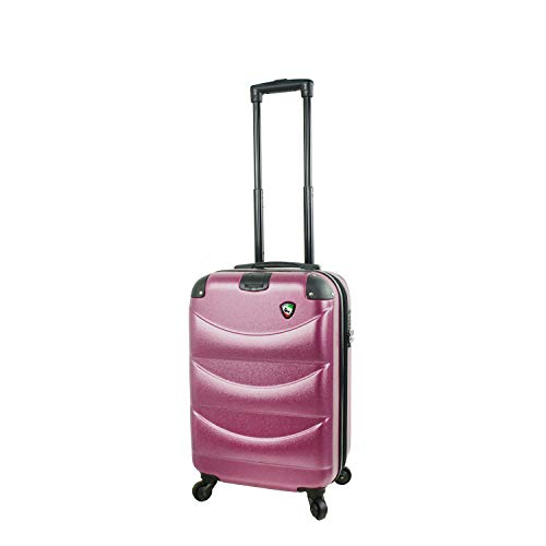 Mia Toro Italy Cadeo Carry-on, Violet, One Size