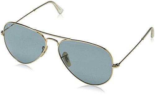 Ray-Ban - Gafas de sol Aviador Aviator Large Metal 3025, Gold