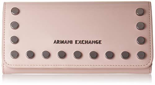 Armani Exchange A X Damen Wallet Continental, Portemonnaie, Under the Skin - Under the Skin 256, Einheitsgröße