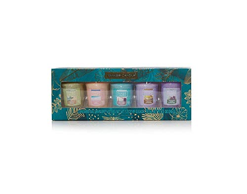 Yankee Candle Gift Set, 5 Scented Votive Candles