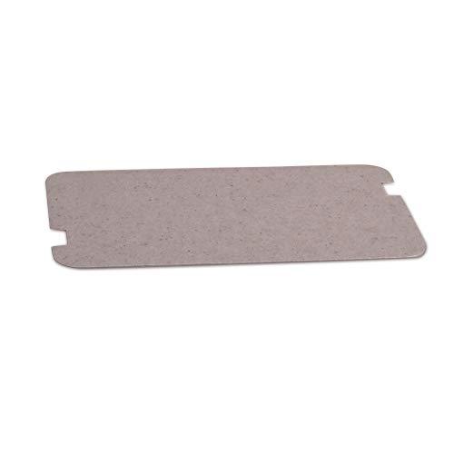 VIOKS Glimmerscheibe Hohlleiterabdeckung Spritzschutz für Mikrowelle Universal Zuschneidbar 129x72mm