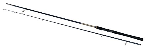 Shakespeare Agility Medium/Heavy Spinning Rod (2 Piece) - Black, 9 ft