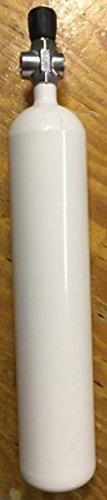 Tauchflasche 3 Liter 300bar komplett mit Ventil