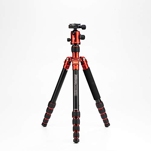 MeFOTO GlobeTrotter Classic 64.2' Aluminum Travel Tripod/Monopod w/Case, Twist Locks,...