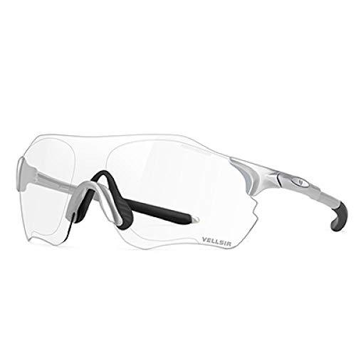 Sonnenbrille für Radfahrer, Sonnenbrille, Sportbrille für Radsport, Fotochromatisch, für Männer und Frauen, zum Laufen, UV400, Farbe4