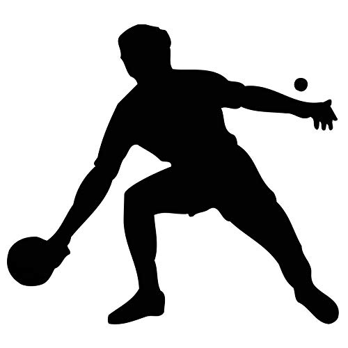 Ayuop Auto Aufkleber heißer tischtennisspieler eine Sport Silhouette Auto Aufkleber für LKW Fenster tür kajak ping Pong vi