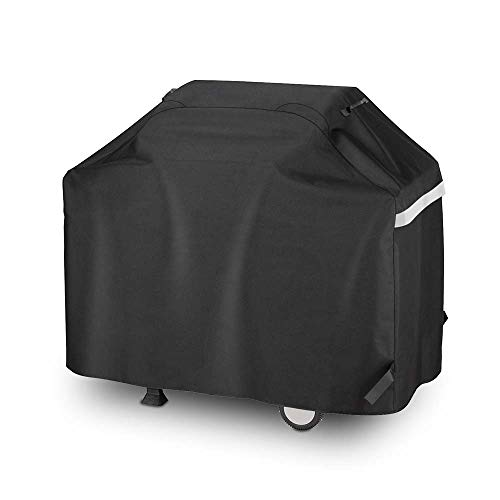 Uniflasy 3 to 4 Burners Gas Grill Cover for Dyna-Glo DGF350CSP-D DGC310CNP-D DGB390SNP-D 700-0745A 720-0954 BBQ Cover for Collapsed Side Tables Weber Char-Broil Nexgrill Brinkmann