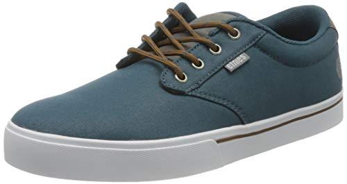Etnies Jameson 2 Eco, Zapatillas de Skateboard para Hombre, Azul (Navy/Grey/Silver 490), EU 43