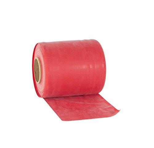 Rolyan Elastico A Media Resistenza per Esercizi Ginnici, 46 M, Colore: Rosso
