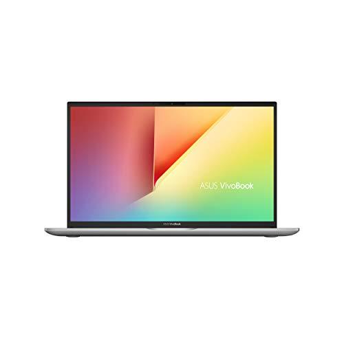 ASUS Vivobook S15 S532FL-BQ285T, Notebook con Monitor 15,6' FHD, Anti-Glare, ScreenPad 2.0, Intel Core i7-10510U, RAM 8GB, Grafica NVIDIA GeForce MX250, HDD 512GB SSD PCIE+32GB SSD,Windows10, Argento