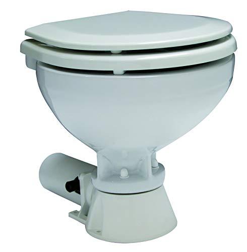 Unbekannt allpa Standard-Electric Toilette Komfort Becken 12V / 13A Bootstoilette Bordtoilette
