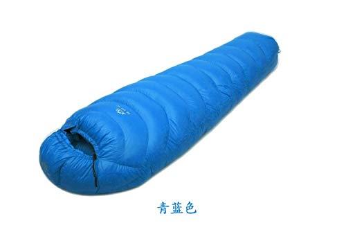 Nemo Sac de couchage imperméable ultraléger et respirant avec garnissage en duvet d'oie blanc 600 g Bleu clair 600 g Taille M