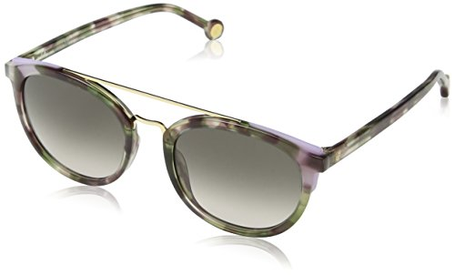 Carolina Herrera SHE7415207D7 Gafas, GREEN HAVANA/SHINY BROWN, 52/21/135 para Mujer
